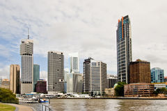 Brisbane cityscape Royalty Free Stock Photos