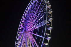 Brisbane colourful Ferris Wheel Royalty Free Stock Images