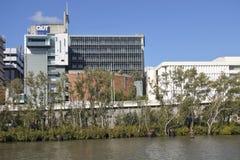 QUT University building exterior in Brisbane, Queensland Australia