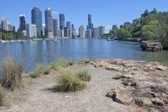 Brisbane die Hauptstadt von Queensland-Staat Australien lizenzfreie stockfotografie