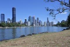 Brisbane die Hauptstadt von Queensland-Staat Australien lizenzfreie stockbilder