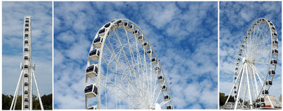 Brisbane Ferris Wheel Royalty Free Stock Photos