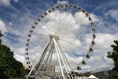 Brisbane ferris wheel Stock Photos