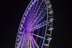 Brisbane Ferris Wheel colorido Imágenes de archivo libres de regalías
