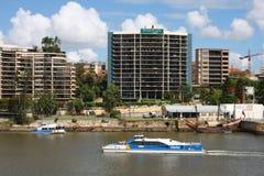 Brisbane ferry Royalty Free Stock Photo