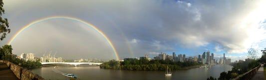 Brisbane flod Royaltyfri Foto