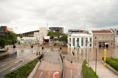 Brisbane Floods: South Brisbane Stock Photo