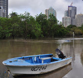 brisbane floods3 Royaltyfria Foton