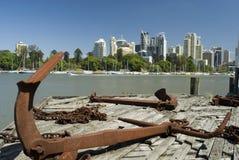 Brisbane-Fluss Lizenzfreies Stockbild
