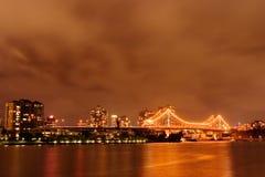 Brisbane-Fluss stockbilder