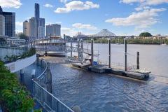 Brisbane-Fluss Stockfoto