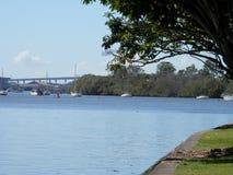Brisbane-Fluss Stockfotos