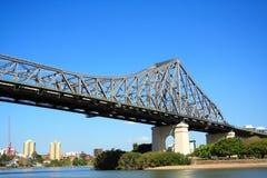 Brisbane-Geschichte-Brücke Stockfoto