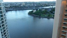 Brisbane-Geschichten-Brücke Stockbild