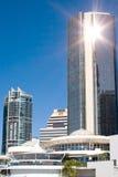 Brisbane grupowego refleksje wieży Zdjęcie Royalty Free