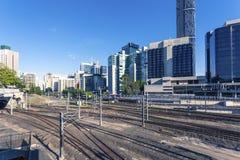 Brisbane järnvägsstation Arkivbild