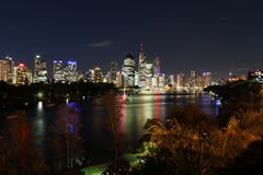 Brisbane & Kangaroo Point Royalty Free Stock Photos
