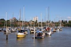 Brisbane marina Stock Photo