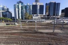 Brisbane miasta poręcz Obraz Stock