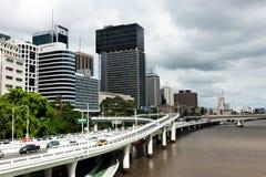 Brisbane miastowy krajobraz Zdjęcia Royalty Free
