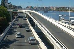 Brisbane motorway Royaltyfri Fotografi