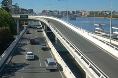 Brisbane motorway Royalty Free Stock Photography