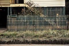Brisbane na vloed Royalty-vrije Stock Foto's
