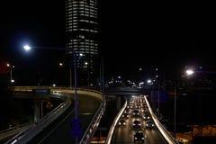 Brisbane nabrzeża drogi zdjęcie royalty free