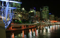 Brisbane by Night Stock Photos