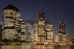 Brisbane At Night Royalty Free Stock Images
