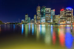 Brisbane at night Royalty Free Stock Photography