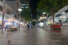 Brisbane night lights. Royalty Free Stock Photo