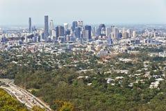Brisbane punktu obserwacyjnego Mt Coot Zdjęcie Royalty Free