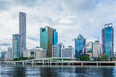 Brisbane, Queensland, Australia: March 11 2016. City seen from t Stock Photography