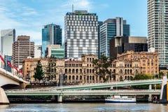 Brisbane, Queensland, Australia, March 11, 2016: Treasury Buildi Stock Image