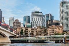 Brisbane, Queensland, Australia, March 11, 2016: Treasury Buildi Royalty Free Stock Photos