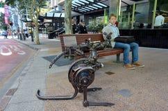 Brisbane Queensland Australien Royaltyfri Fotografi