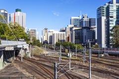 Brisbane railway station Stock Photos