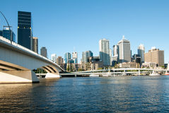 Brisbane River City Scape Royalty Free Stock Photos