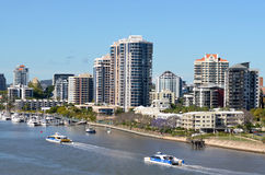 Brisbane River Queensland Australia Stock Images