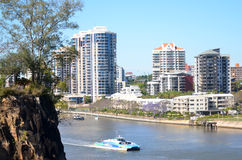 Brisbane River Queensland Australia Stock Image