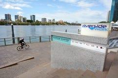 Brisbane Riverside Quarter - Little Singapore Royalty Free Stock Images