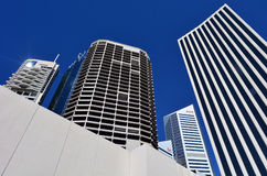 Brisbane Riverside Quarter - Little Singapore. BRISBANE, AUS - SEP 26 2014: Skyscrapers at Little Singapore -Brisbane Riverside Quarter. It�s home to some of Stock Photo
