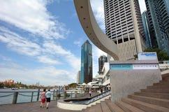 Brisbane Riverside Quarter - Little Singapore Stock Photos