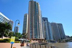 Brisbane Riverside Quarter - Little Singapore Stock Image