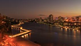 Brisbane Riverwalk Imagens de Stock