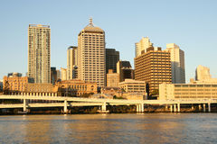 Brisbane Skyline. Royalty Free Stock Photo