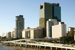 Brisbane Skyline. Royalty Free Stock Images