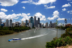 Brisbane skyline Stock Image