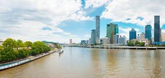 Brisbane skyline Royalty Free Stock Images